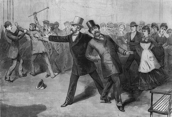 Attentatet mot James Garfield var foranledningen til tidenes raskeste jernbaneutbygging.