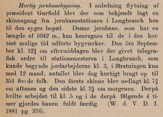 Fra Teknisk Ukeblads artikkel om verdens hurtigste jernbaneutbygging.