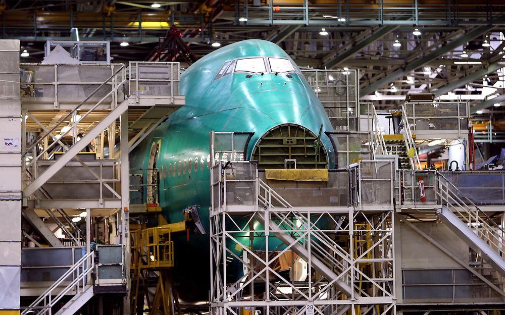 Den nye jumbojeten, 747-8, har ikke vært noen stor suksess. I 2014 ble dette til Korean Air og ytterligere 18 eksemplarer produsert, men Boeing fikk ikke en eneste ny bestilling på flytypen.