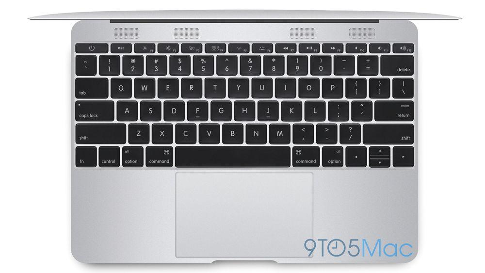 Sånn cirka slik skal den nye Macbook Air se ut, ifølge 9to5Mac. Den vil være langt tynnere enn dagens utgave, vifteløs og smalere enn selv 11-tommeren.