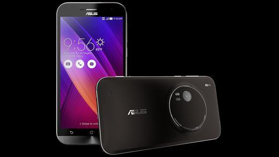 Asus Zenfone Zoom har 3 x optisk zoom integrert, og har ingen optikk som beveger på utsiden.
