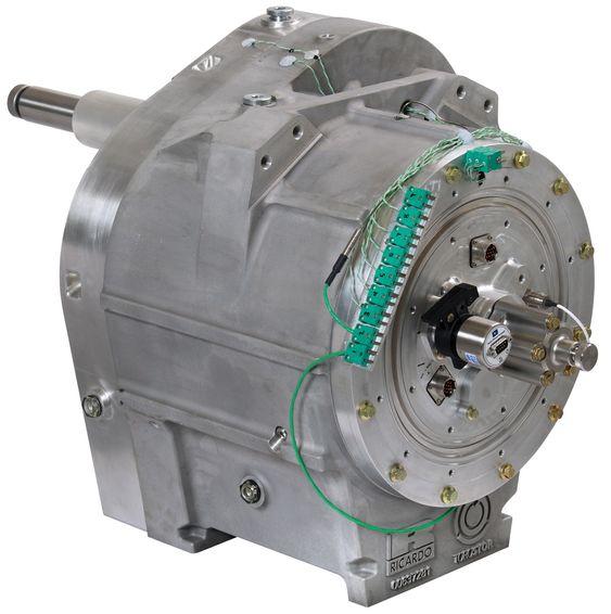 Svinghjulet TorqStor skal redusere miljøbelastningen fra dieseltog.