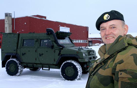 Trond Røed er prosjektleder for Iveco LAV4-anskaffelsen for Forsvarets logistikkorganisasjon.
