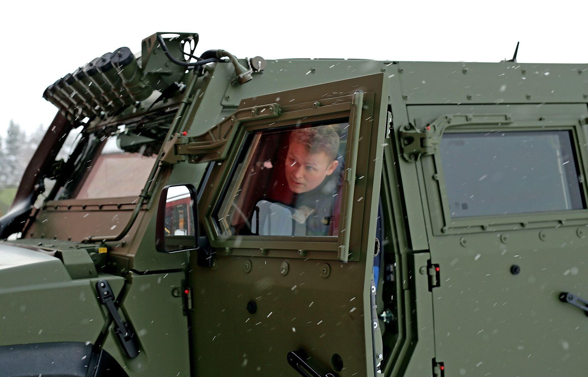 f0f15bb0b Denne panserbilen er resultatet av hva Forsvaret lærte i Afghanistan ...