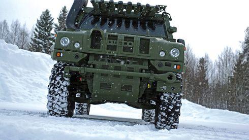 Denne panserbilen er resultatet av hva Forsvaret lærte i Afghanistan