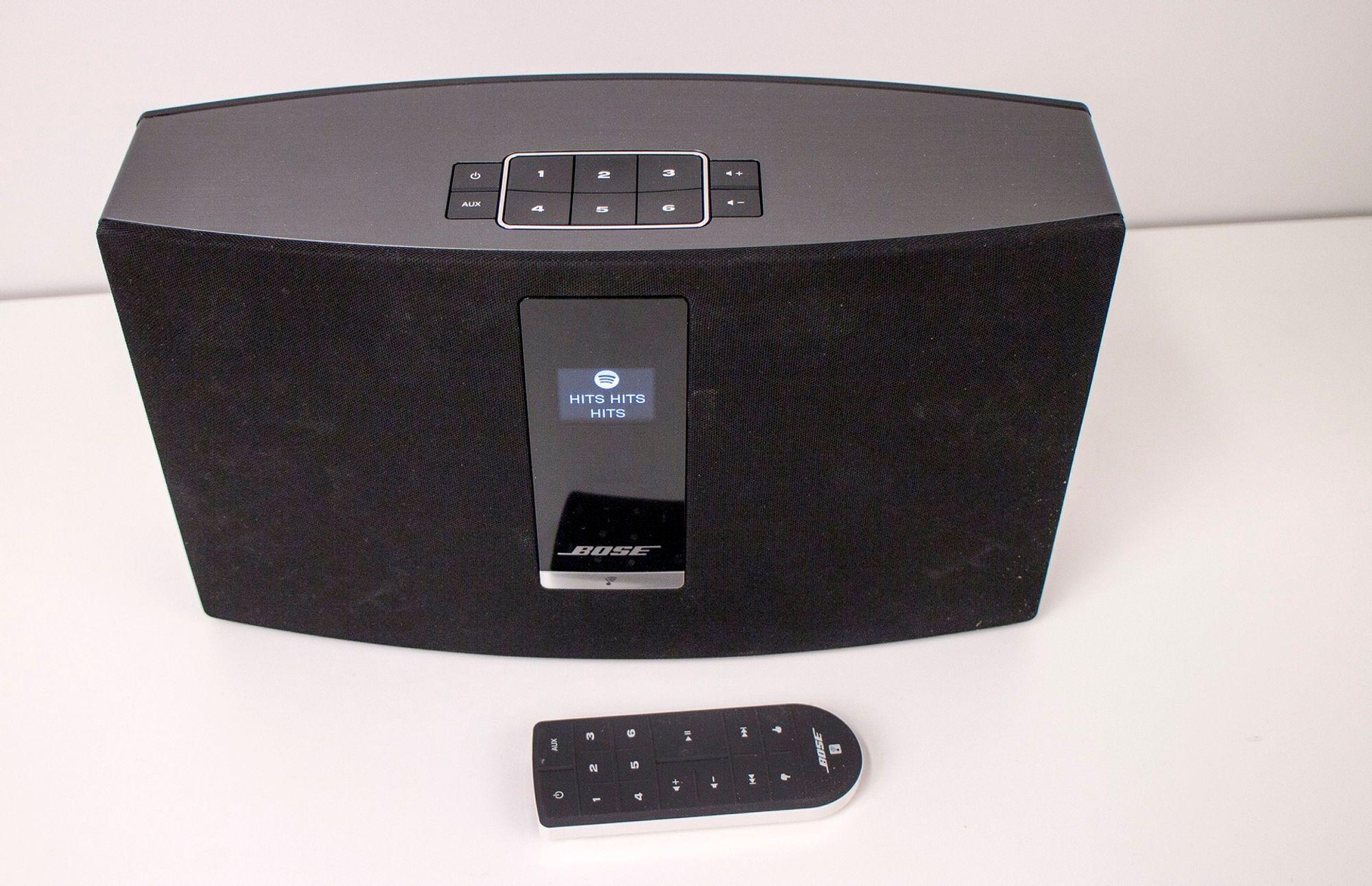 Kraftig høyttaler fra Bose med Bluetooth   Høyttaler