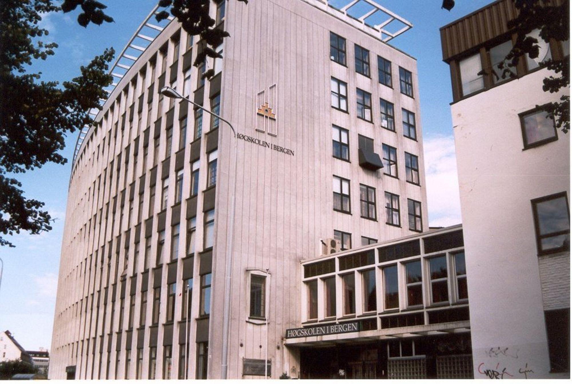 Høgskolen i Bergen, avdeling for ingeniørutdanning.