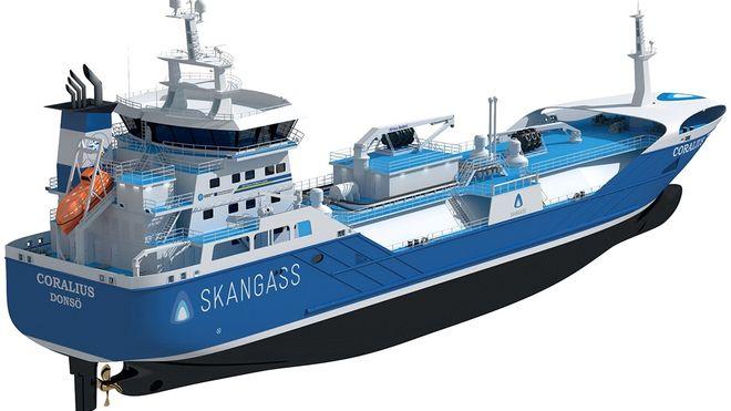 Skangass får eget LNG-bunkringsskip