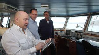 Det kapteinen har i hånda kan bli det viktigste sikkerhetsverktøyet for en skipper