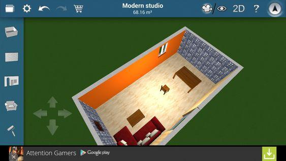 Det finnes apper som lar deg lage tegninger av huset ditt. Smart om du tenker på å gjøre endringer i rommene.