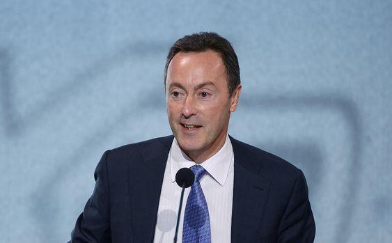Airbus-sjef Fabrice Brégier på den årlige pressekonferansen tirsdag.