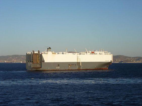 Höegh Osaka ble byget i 2000 og har plass til 5400 bilenheter. Rederiet disponerer en flåte på 60 skip med kapasiteter mellom 2400 og 7800 bilenheter.