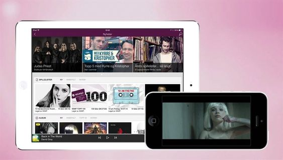 Wimp tilbyr både CD-kvalitet og musikkvideoer.