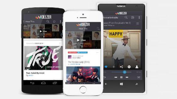 Deezer er en fullverdig strømmetjeneste på nivå med Spotify.