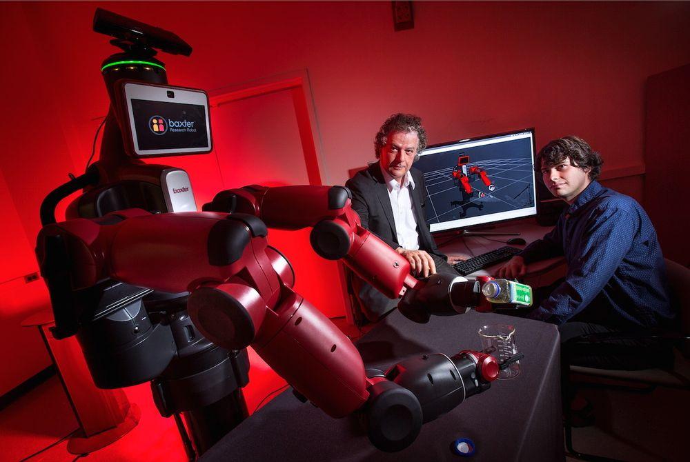 Ny oppførsel: Yiannis Aloimonos utvikler robotsystemer som er i stand til å kjenne igjen objekter og generere ny oppførsel på basert på observasjoner og algoritmer.