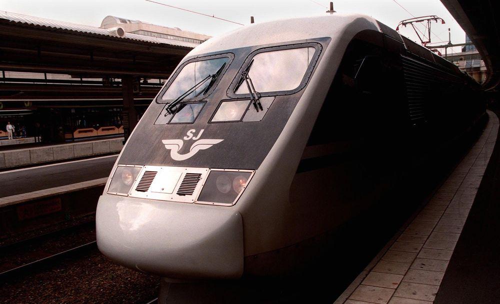 De svenske «X2000» har økt markedsandelen fra 37 til 52 prosent på strekningen Stockholm-Göteborg i Sverige siden 1990.