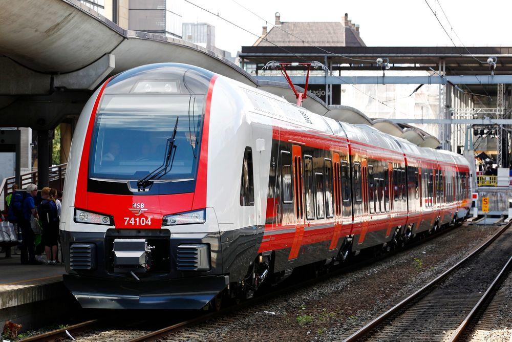 Det ble foretatt over 70 millioner reiser med tog i 2014, viser nye tall fra SSB.
