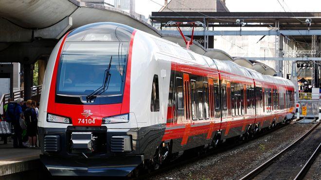 I dag går det 100 flere tog i døgnet enn for to år siden