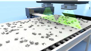 «Verdens beste sorteringsanlegg» blir utstyrt med norsk teknologi
