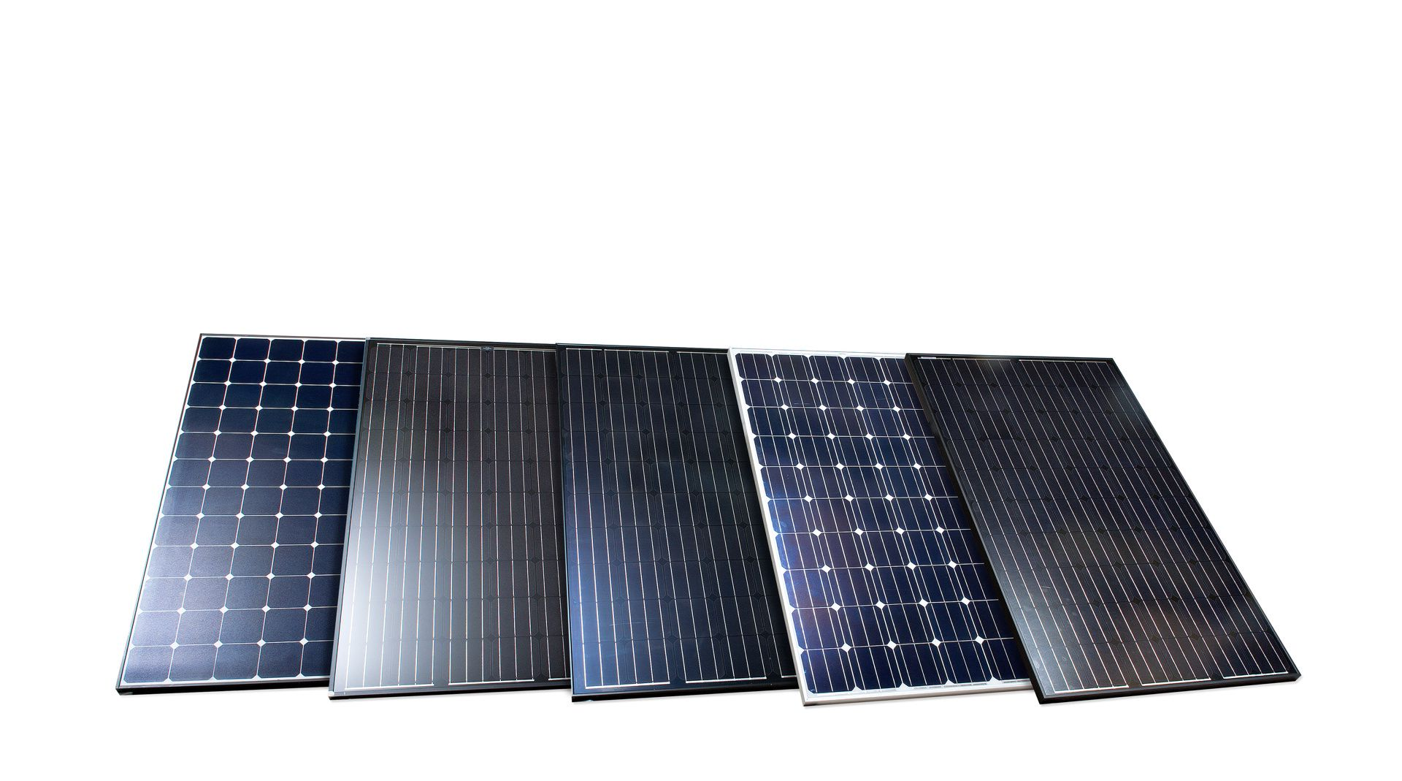 Solcellepanel test