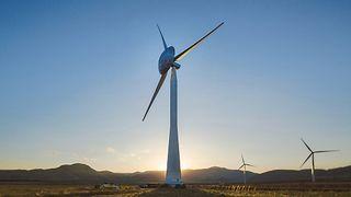 20 meter stor kuppel får vindturbiner til å produsere mer strøm