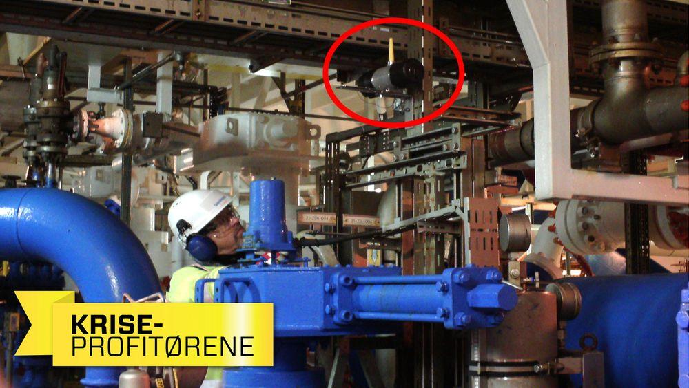 Gassensoren montert på  Gullfaks C. Gas Secure vil nå tilby komplette pakker med engineering, installasjon og igangkjøring.