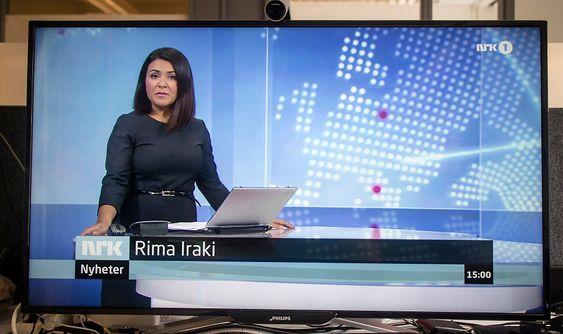 TV: En skjerm på 40 tommer er en aldeles utmerket TV når du er lei av å jobbe.