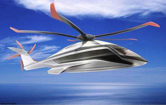 Dette er dem første illustrasjonen som Airbus Helicopters har lagt ved i anledning at de starter X6-utviklingsarbeidet.