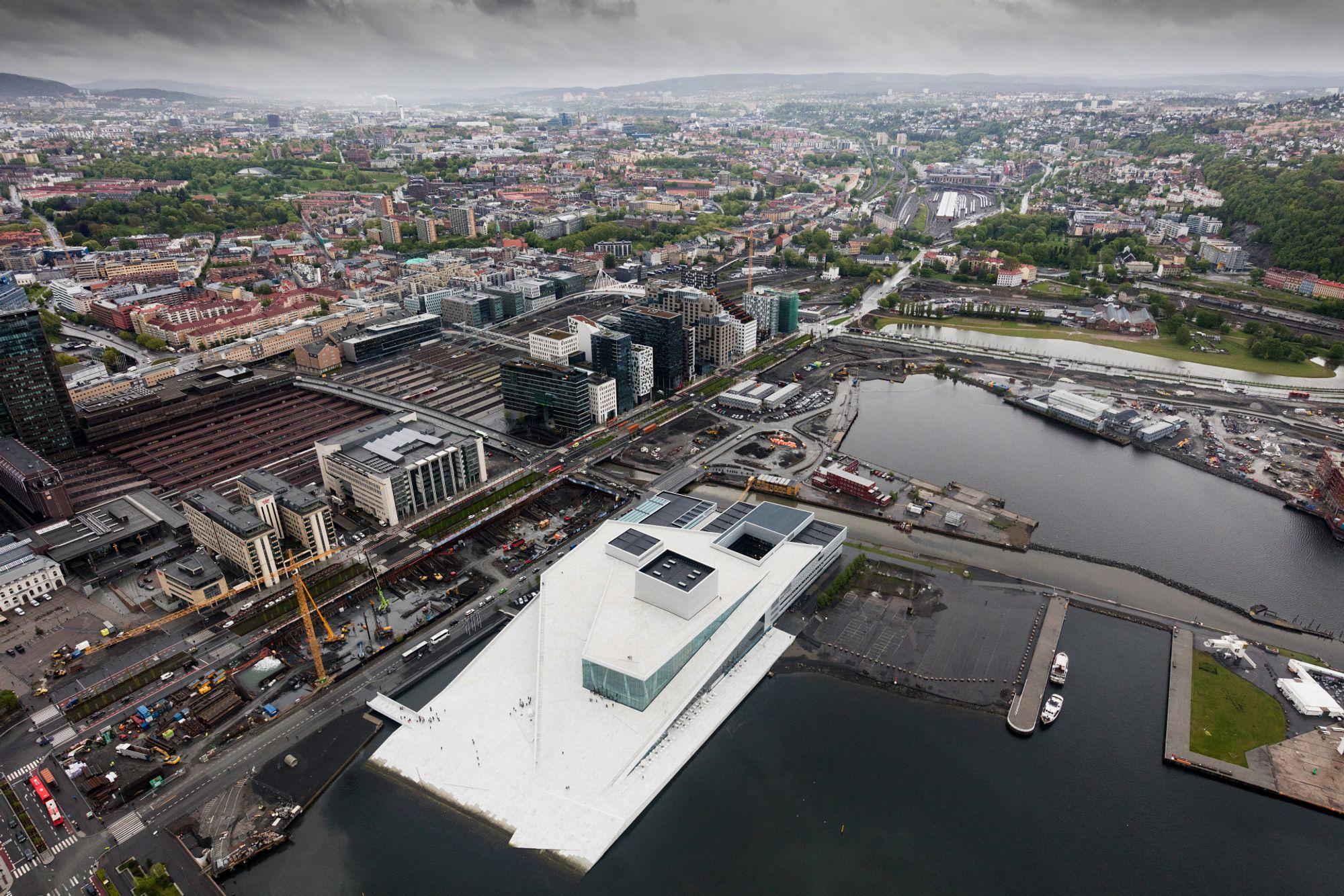Over Oslo med supervidvinkel og 50 megapiksler - Tu.no