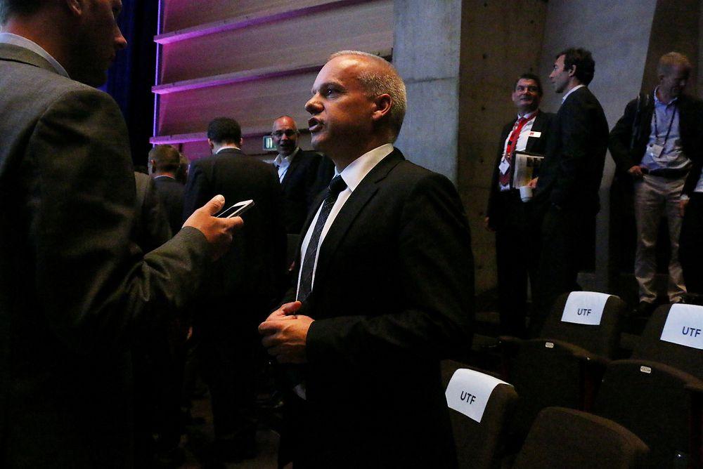 Konserndirektør Anders Opedal har ledet forhandlingene om kutt i Statoil.