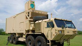 Også Boeing har gjennomført en rekke tester av laserluftvern mot droner, missiler og granater de siste årene med sin High Energy Laser Mobile Demonstrator (HEL MD).