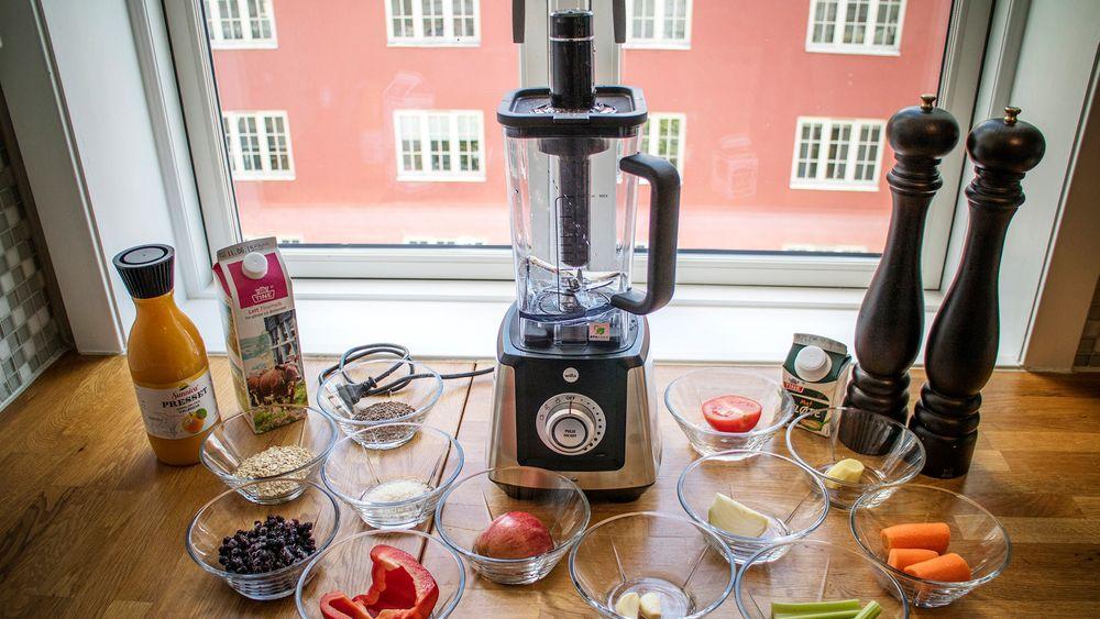 Testing: Vi testet Wilfa Raw Fuel og laget alt fra suppe til smoothie med mange ulike ingedienser. Selv frø og nøtter ble det mulig å drikke etter nærkontakt med alle knivene.