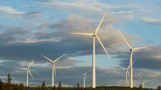 Vindkraft produserte mer energi enn kjernekraft