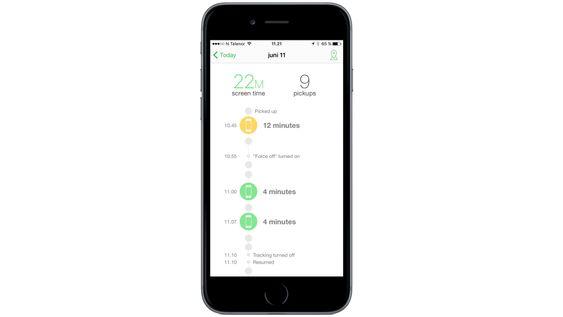 Moment gjør det enkelt å holde styr på hvor mye tid du bruker på å glane på mobilen.