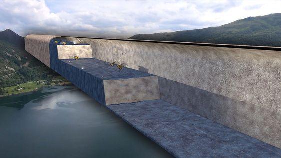 Ferdig utsprengt får tunnelen et tverssnitareal på 1625 kvadratmeter.