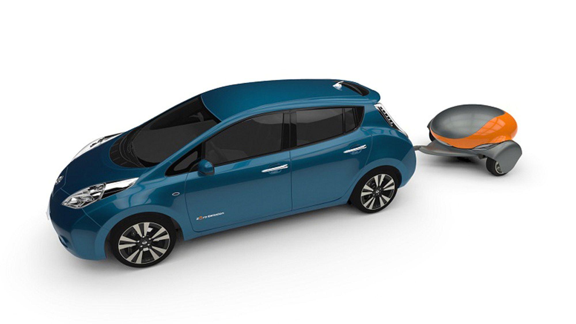 """""""Nomad"""", kalles den, og den kan fås i kapasiteter opptil 85 kWh. Det skal holde til over 500 kilometer med en liten elbil."""