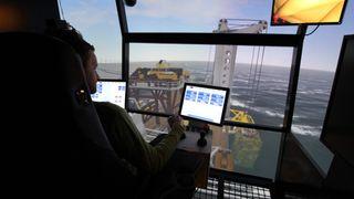 Her trener Statoil på å senke 390 tonn ned til 265 meters dyp