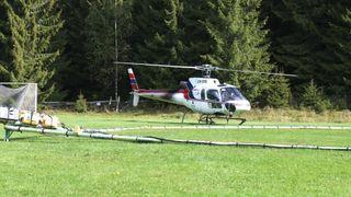 Helikopter med «metalldetektor» skal kartlegge Intercity-traséen