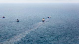 Her slippes 130 tonn olje rett ut i Nordsjøen