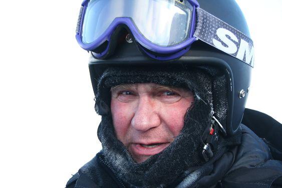 Odd Akselsen i Sintef leder prosjektet Arctic Material. Her fra kick-off-møte på Svalbard.