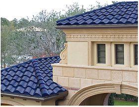 Solcellene som er bygd inn i taket, vises knapt.