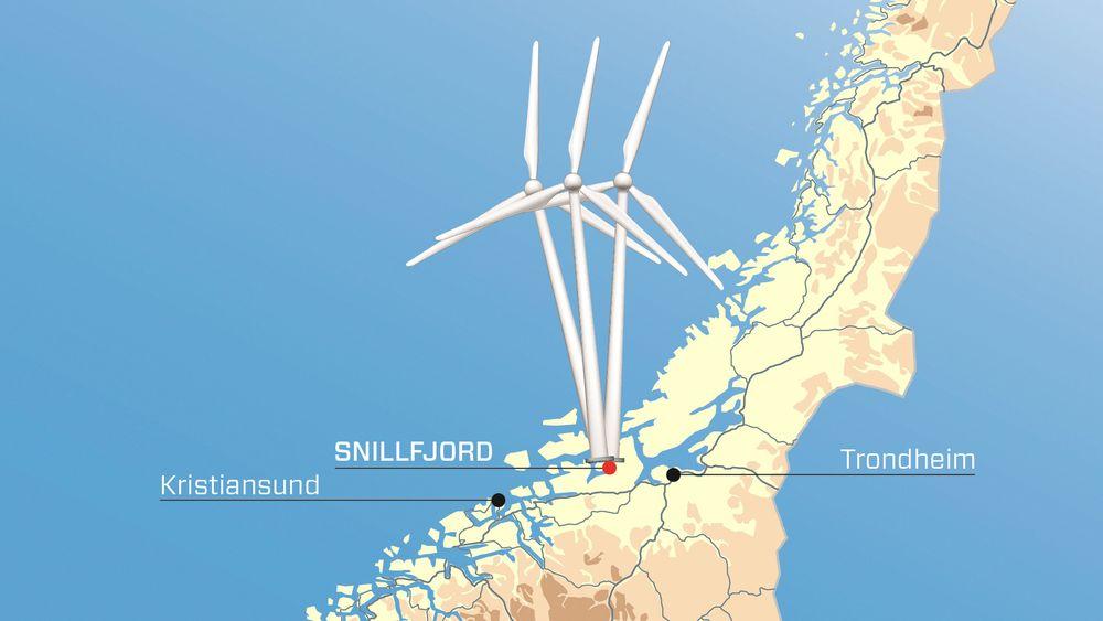 Det blir ikke Statkraft-vindmøller i Midt-Norge. Nå vurderer næringsministeren å stoppe kapitaltilførselen på 10 milliarder kroner.