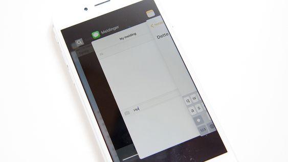 Appveksleren er ny, og ligner nå mer på appveksleren i Android.