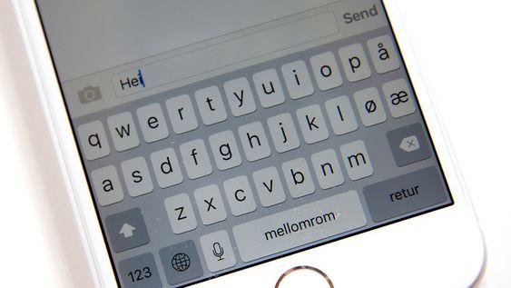 De store bokstavene endrer seg nå til små når du faktisk skriver små bokstaver.