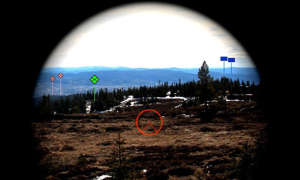 Forsvarets forskningsinstitutt, Augmenti og Kongsberg jobber med en AR-løsning der BMS-informasjon skal vises direkte i siktebildet på våpenstasjonen.