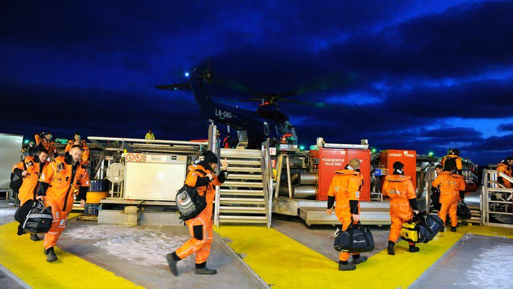 Arbeid offshore for Statoil er ettertraktet. Av de 132 lærlingene Statoil tar inn i år, vil mellom 35 og 40 av dem jobbe offshore.