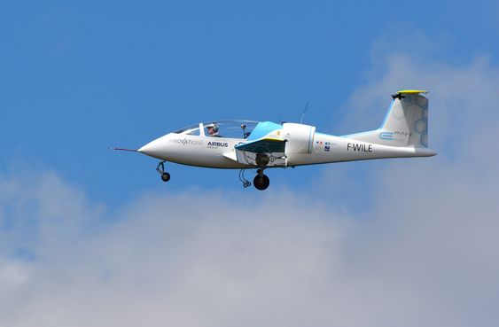 Airbus E-Fans lengste flytur så langt varte i 53 minutter.