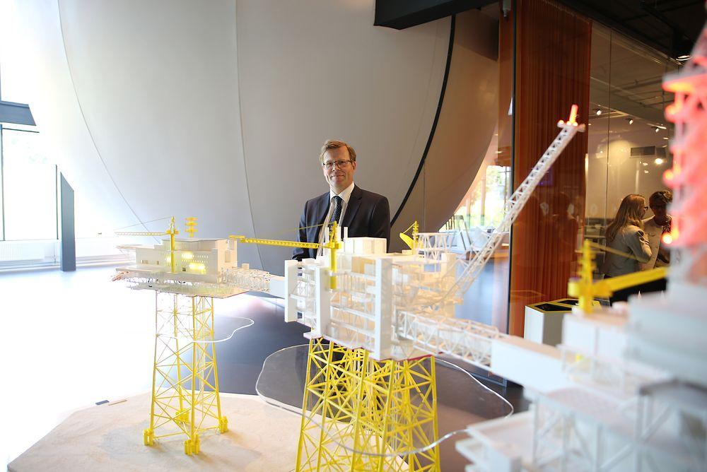 Norges-sjef i Aker Solutions, Per Harald Kongelf frykter ingenting. Men han legger ikke skjul på at de har kort tid på Sverdrup-prosjektet.