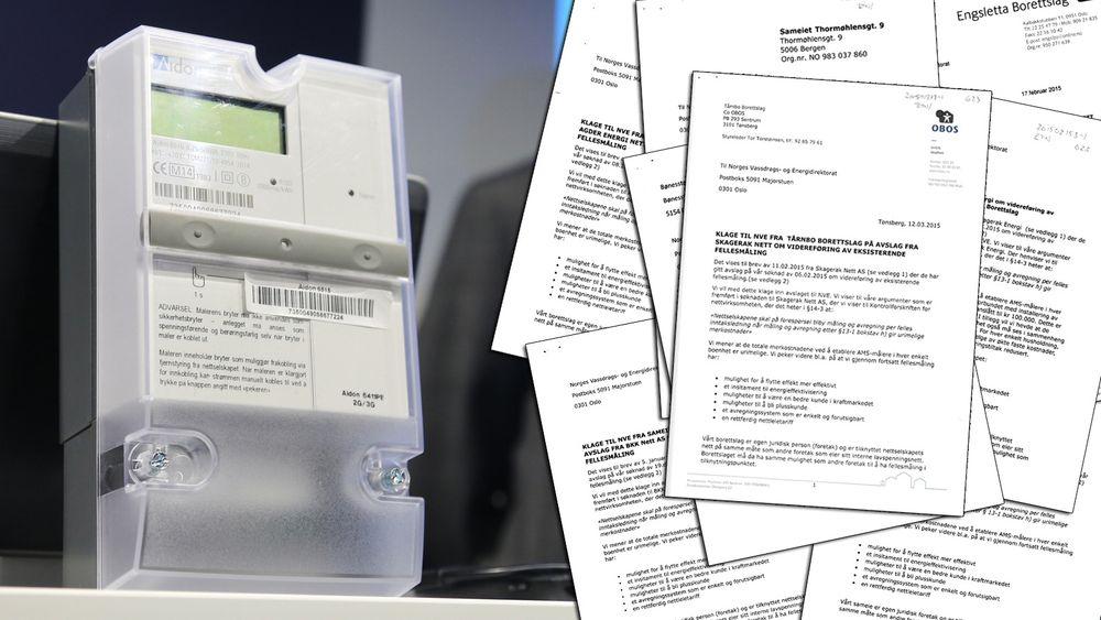 Hafslund Nett har mottatt 17 tilnærmet identiske søknader fra borettslag som ønsker å slippe å slippe individuell strømmåling. Søknaden er utformet av selskapet Hjemkraft, i Istad-konsernet.