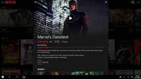 Det nye detaljvinduet byr blant annet på store bilder fra filmen eller TV-programmet.
